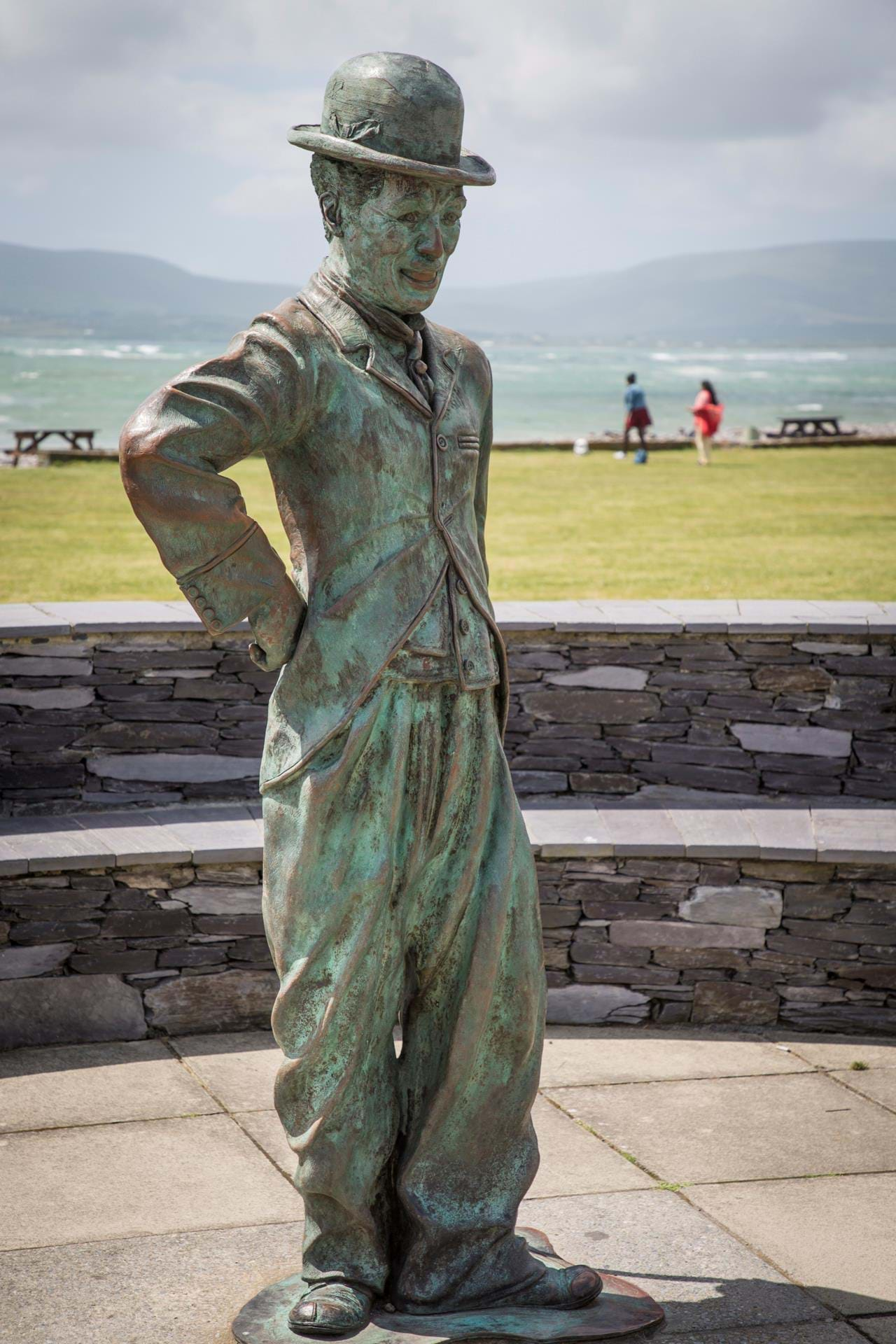 Charlie Chaplin i Waterville Ring of Kerry